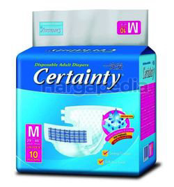 Certainty Disposable Adults Diapers M10