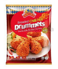 Farm's Best Chilli Hot Breaded Drummet 850gm