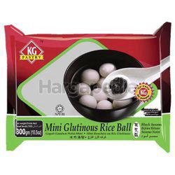 KG Pastry Mini Glutinous Rice Ball Black Sesame 300gm
