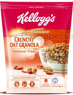 Kellogg's Crunchy Oat Granola Almond Treat 380gm