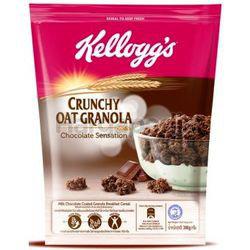Kellogg's Crunchy Oat Granola Chocolate Sensation 380gm