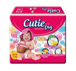 Cutie Dry Baby Diapers S78