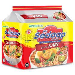 Mi Sedaap Instant Noodle Curry 5x73gm