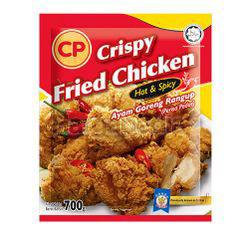 CP Crispy Fried Chicken Hot & Spicy 700gm