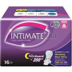 Intimate Cottony Surface Night Guard Ultralong Maxi Wing 16s