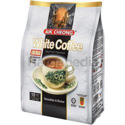 Aik Cheong 3in1 White Coffee Less Sugar 15x40gm