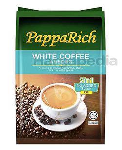 PappaRich 2in1 White Coffee No Sugar 12x25gm