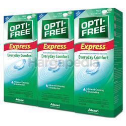 Alcon Opti-Free Express Multi-Purpose Disinfecting Solution 3x355ml