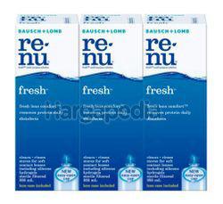 Bausch & Lomb Renu Fresh Multipurpose Solution 3x355ml