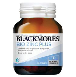 Blackmores Bio Zinc Plus 90s