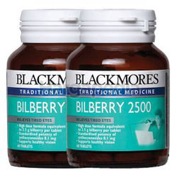 Blackmores Bilberry 2500mg 2x60s