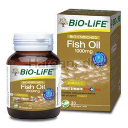 Bio-Life Bio-Enriched Fish Oil 1000mg 30s