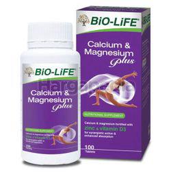 Bio-Life Calcium & Magnesium Plus 100s