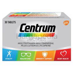 Centrum Silver Multivitamin & Mineral + Lutein & Lycopene 30s