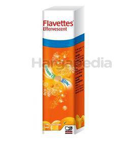 Flavettes Effervescent Vitamin C + Zinc 15s