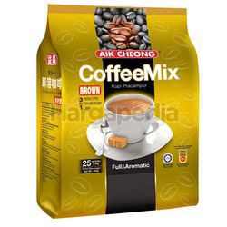 Aik Cheong 3in1 Instant Coffee Mix Brown 25x20gm