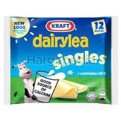 Kraft Dairylea Singles Hi Calcium Cheese 12s 250gm