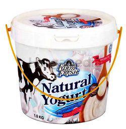 Farm Fresh Natural Yogurt 1.5kg