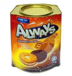 Hwa Tai Always Assort Biscuit 600gm
