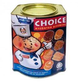 Hwa Tai Choice Assort Biscuits 600gm
