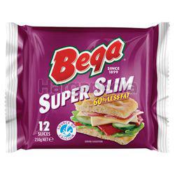 Bega Cheese Super Slim 12s 250gm