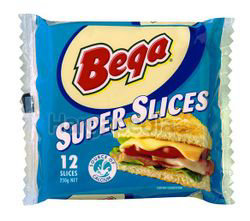 Bega Cheese Super Slices 12s 250gm