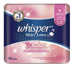 Whisper Skin Love Ultra Slim 24cm Normal/Heavy Day 18s