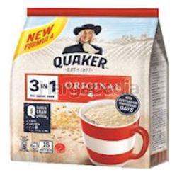 Quaker 3in1 Cereal Original 15x28gm