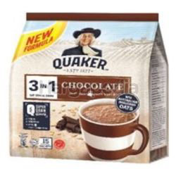 Quaker 3in1 Cereal Chocolate 15x28gm