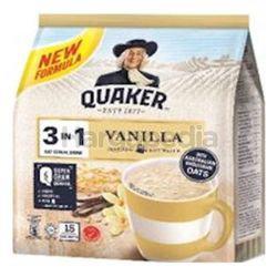 Quaker 3in1 Cereal Vanilla 15x28gm