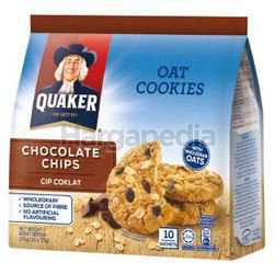 Quaker Oat Cookies Chocolate Chips 270gm