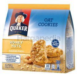 Quaker Oat Cookies Honey Nuts 270gm