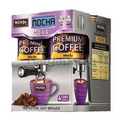 Wonda Premium Coffee Mocha 4x240ml
