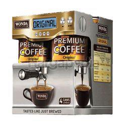 Wonda Premium Coffee Original 4x240ml