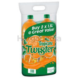 Tropicana Twister Juice Orange 2x1.5lit