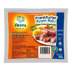 Ayam Fiesta Chicken Frankfurter Cheese 300gm