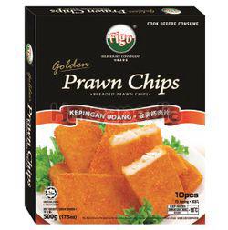 Figo Golden Prawn Chips 500gm