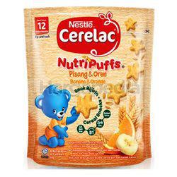 Nestle Cerelac Nutripuffs Banana & Orange 50gm