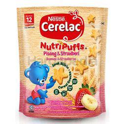 Nestle Cerelac Nutripuffs Banana & Strawberry 50gm