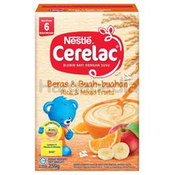 Nestle Cerelac Rice & Mixed Fruits 250gm