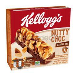 Kellogg's Cereal Bar Nutty Choc 4x30gm