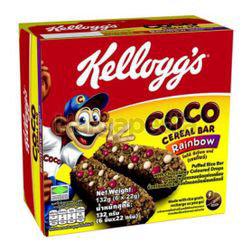 Kellogg's Coco Cereal Bar Rainbow 6x22gm