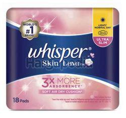 Whisper Skin Love Ultra Slim 22cm Light/ Normal Day 18s