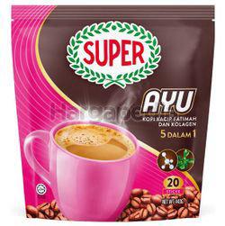 Super AYU 5in1 Kacip Fatimah & Collagen Coffee 20x22gm