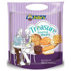 Julie's Biscuit Treasure Handy Pack 285gm