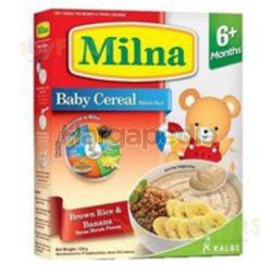 Milna Cereal 6+ Brown Rice Banana 120gm