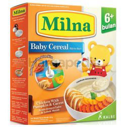Milna Cereal 6+ Chicken with Pumpkin & Carrot 120gm