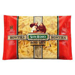 San Remo Pasta No23 Bowties 500gm