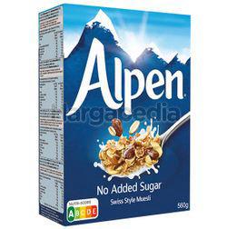 Alpen Muesli No Added Sugar 560gm