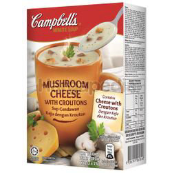 Campbell's Instant Soup Mushroom Cheese with Croutons 3x21gm